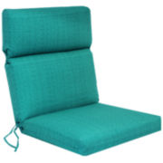 Outdoor Oasis™ La Playa Solid Outdoor Chair Cushion
