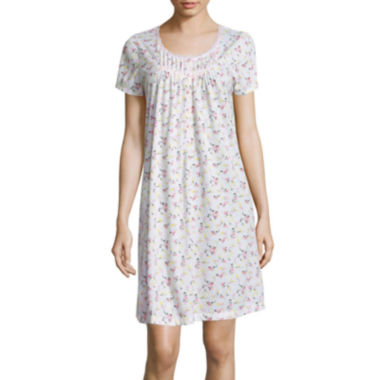 jcpenney.com | Adonna Short-Sleeve Knit Nightgown