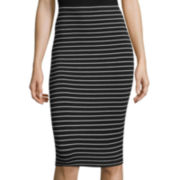Decree® Midi Bodycon Skirt