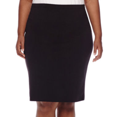jcpenney.com | Decree® Midi Bodycon Skirt - Juniors Plus