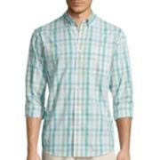 Dockers® Long-Sleeve Roadmap Woven Shirt - Big & Tall