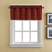 Dora Rod-Pocket Tailored Valance