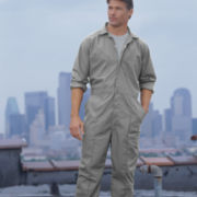 Parasuit Long-Sleeve Non-Belted Jumpsuit