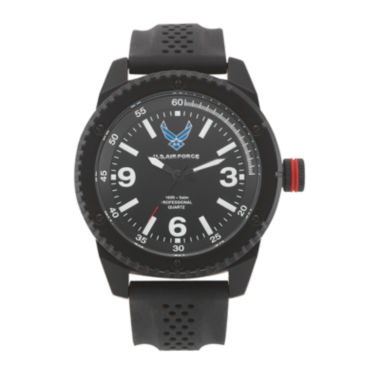 jcpenney.com | Wrist Armor® C20 US Air Force Mens Rubber Strap Watch