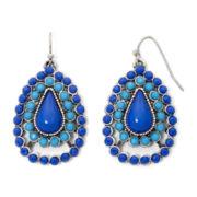 Arizona Blue Teardrop Earrings