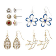 Arizona 6-pr. Assorted Earrings