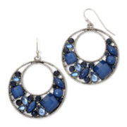 Arizona Blue Hoop Earrings