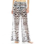 Porto Cruz® Chiffon Beach Cover-Up Pants