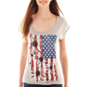 Hybrid® Short-Sleeve Daisy Flag Tee