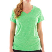 Xersion™ Short-Sleeve Melange Tee - Plus