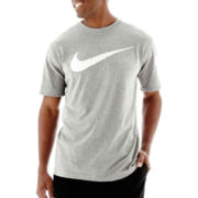 Nike® Dri-FIT Hangtag Swoosh Tee