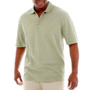 Van Heusen® Short-Sleeve Micropoly Box Polo Shirt-Big & Tall