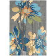 Nourison® Wild Flowers Hand-Hooked Indoor/Outdoor Rectangular Rug