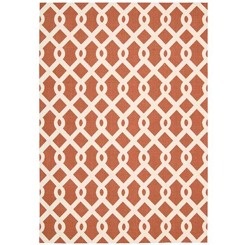 Waverly® Ellis Lattice Indoor/Outdoor Rectangular Rug