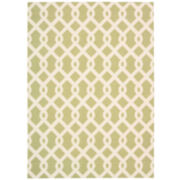 Waverly® Ellis Lattice Indoor/Outdoor Rectangular Rug