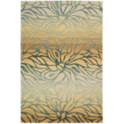 Nourison® Ombré Stream Hand-Carved Rectangular Rugs