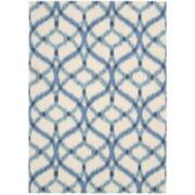 Waverly® Izmir Indoor/Outdoor Ikat Rectangular Rugs