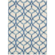 Waverly® Izmir Indoor/Outdoor Ikat Rectangular Rugs