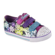 Skechers® Glint & Gleam Girls Sneakers - Little Kids