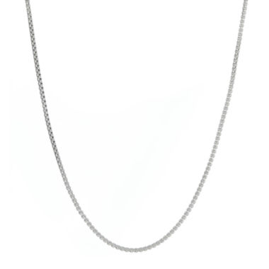 jcpenney.com | Mens Stainless Steel Box Chain Necklace