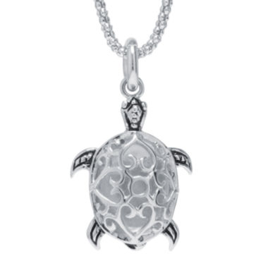 jcpenney.com | Sterling Silver Turtle Pendant Necklace