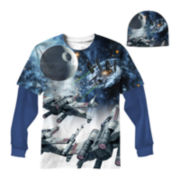 Star Wars X Wing Beast Graphic Tee with Beanie - Boys 8-20