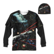 Star Wars Space Battles Graphic Tee with Beanie - Boys 8-20