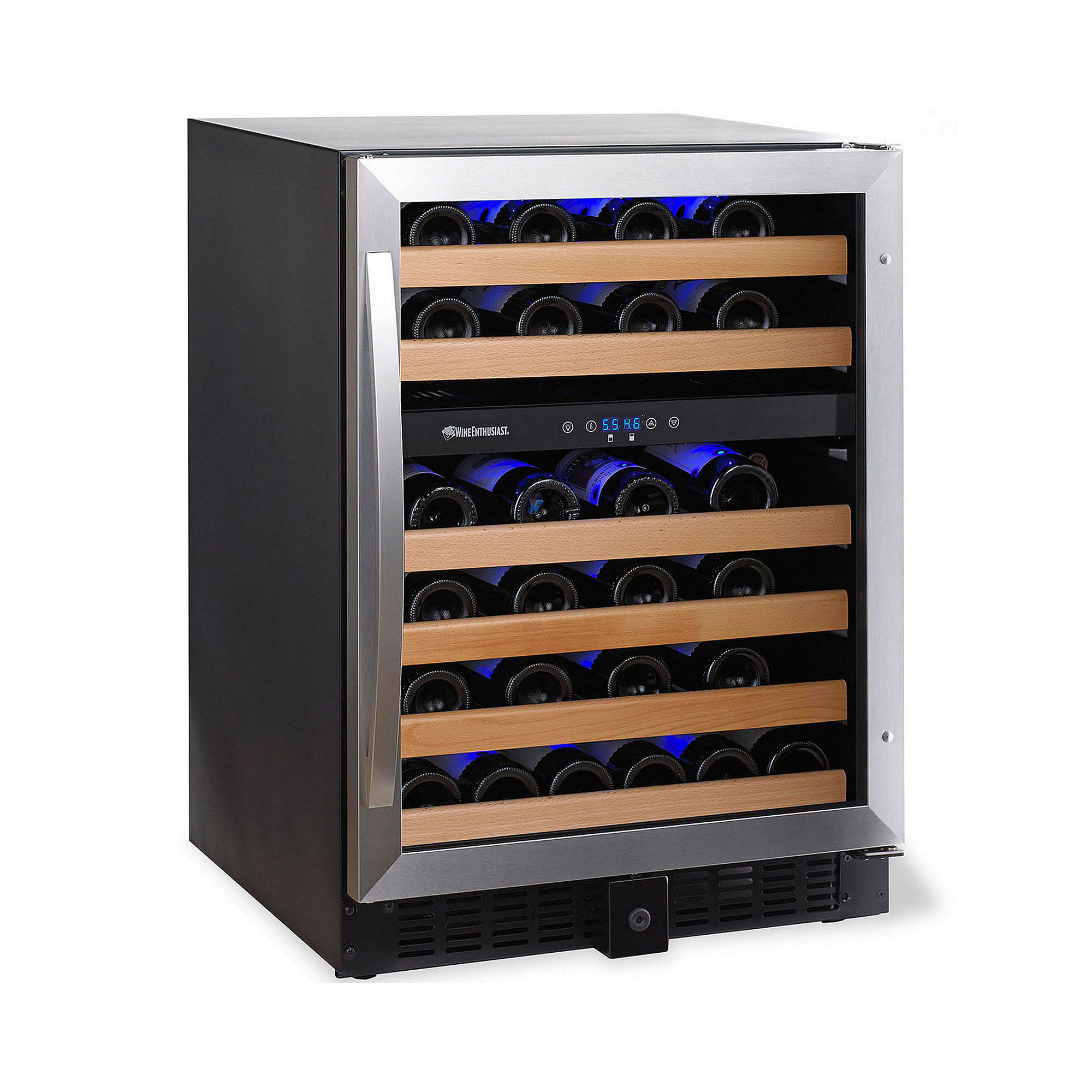 Wine Enthusiast Classic 46 Dual-Zone Wine Cellar