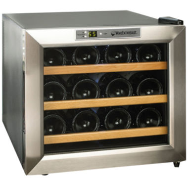 jcpenney.com | Wine Enthusiast® Silent 12-Bottle Wine Refrigerator