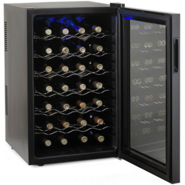 jcpenney.com | Wine Enthusiast® Silent 28-Bottle Touchscreen Wine Refrigerator