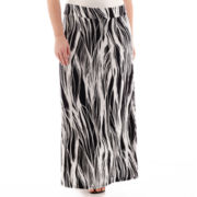 Liz Claiborne® Knit Maxi Skirt - Plus