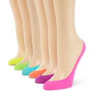 6-pk. Microfiber Liner Socks