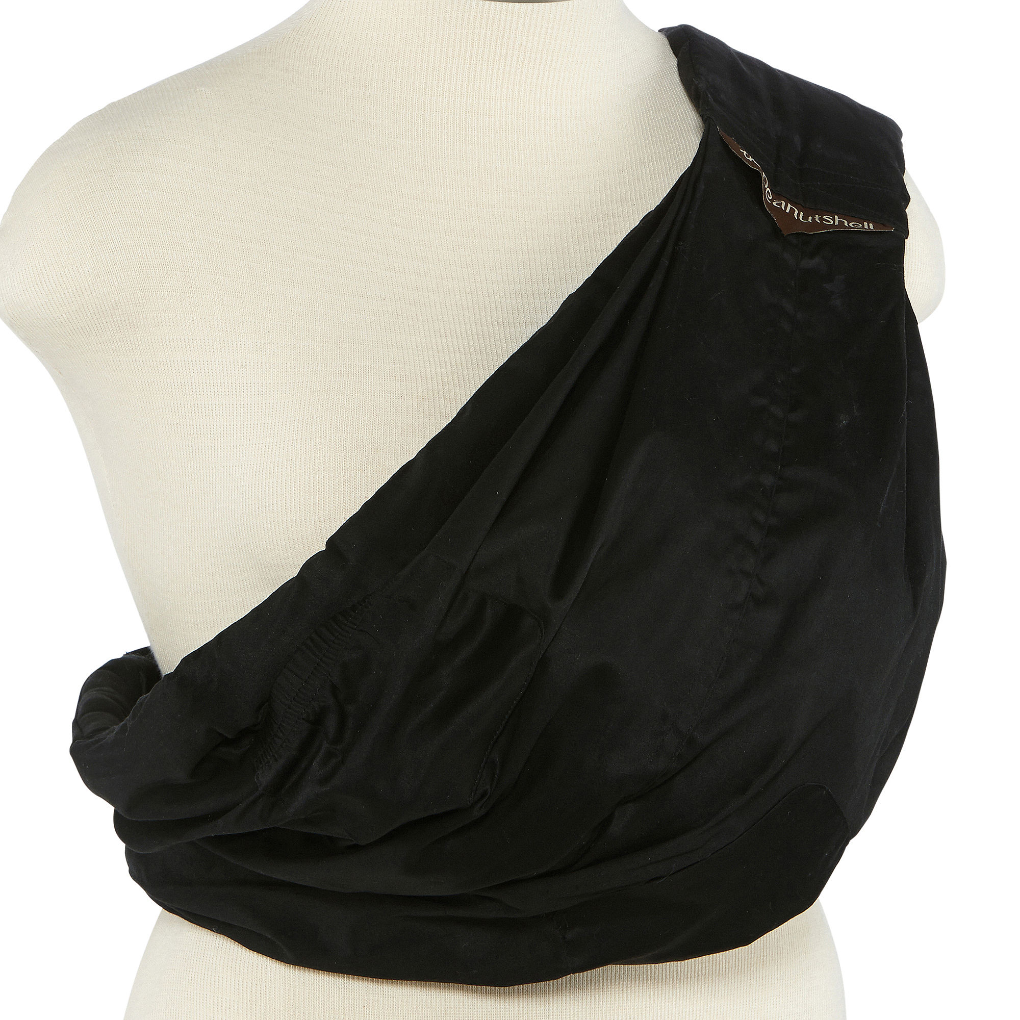 The Peanut Shell Adjustable Baby Sling - Black