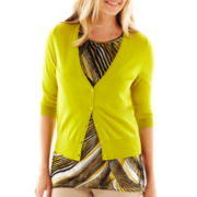 Worthington® V-Neck Cardigan Sweater