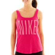 Nike® Mesh 2-in-1 Tank Top