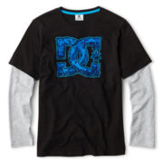 DC Shoes® Long-Sleeve Layered Tee - Boys 8-20