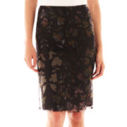 MNG by Mango® Floral Pencil Skirt
