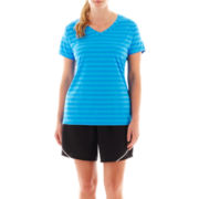 Xersion™ Melange Tee or Woven Shorts - Plus