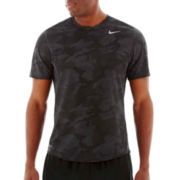 Nike Camo Running Top