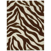 Kenya Animal Print Rectangular Rug