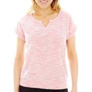 Made For Life™ Short-Sleeve Sweatshirt - Petite