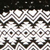 Aztec Black White