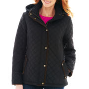 St. John's Bay® Midweight Quilted Jacket -Tall