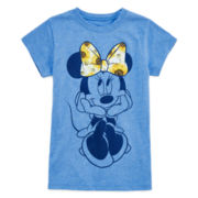 Minnie Mouse Graphic Festival Tee - Girls 7-16