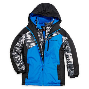 jcpenney.com | Weatherproof® Heavyweight Vestee Jacket - Boys 8-20