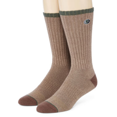 jcpenney.com | Mossy Oak® 2-pk. Casual Dress Crew Socks