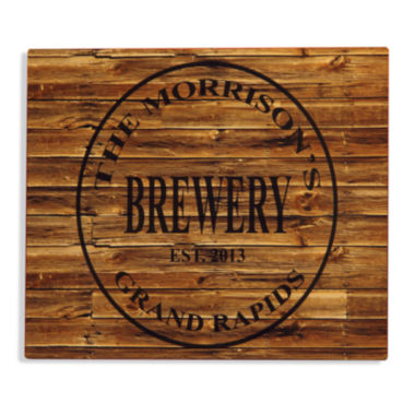 jcpenney.com | Personalized Brewery Aluminum Bar Sign