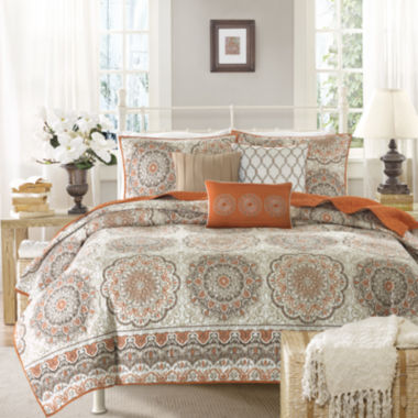 jcpenney.com | Madison Park Curtner 6-pc. Quilted Coverlet Set