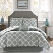 Madison Park Essential Almaden Complete Reversible Bedding Set with Sheets