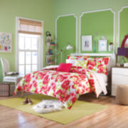 Teen Vogue Painted Poppy Comforter Set